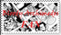 BLOODY ARCHIMEDES FAN Stamp by NoeruMultiWeaboo360