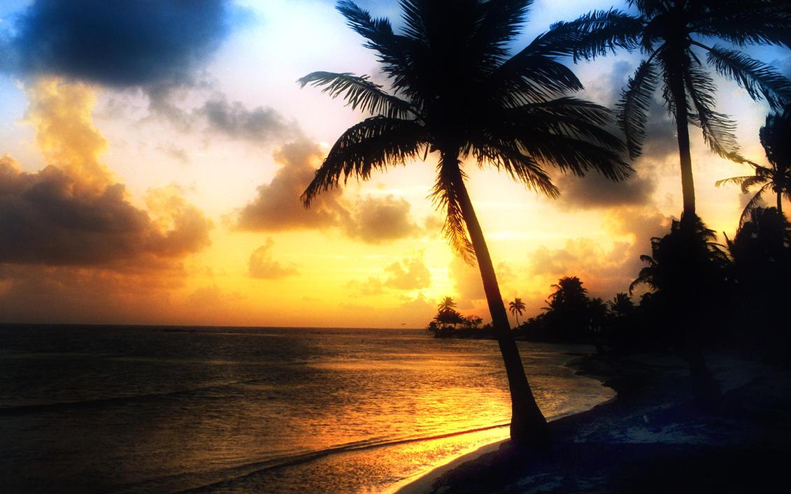 Sunrise, San Pedro, Belize. By PicoII On DeviantArt