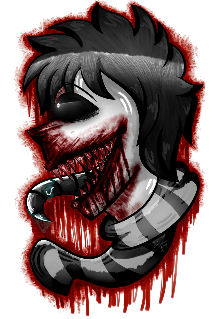 The Taste of Blood :  by Demonic-Trash on DeviantArt