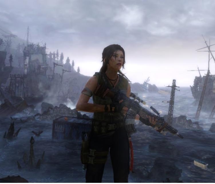 Tomb Raider 2013 Wallpaper: TOMB RAIDER 2013 ....LC By Gilgameshenkido On DeviantArt
