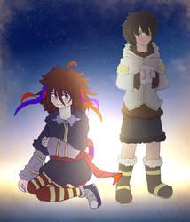 [OCs] Kikou And Seth by ArkaniaNEO