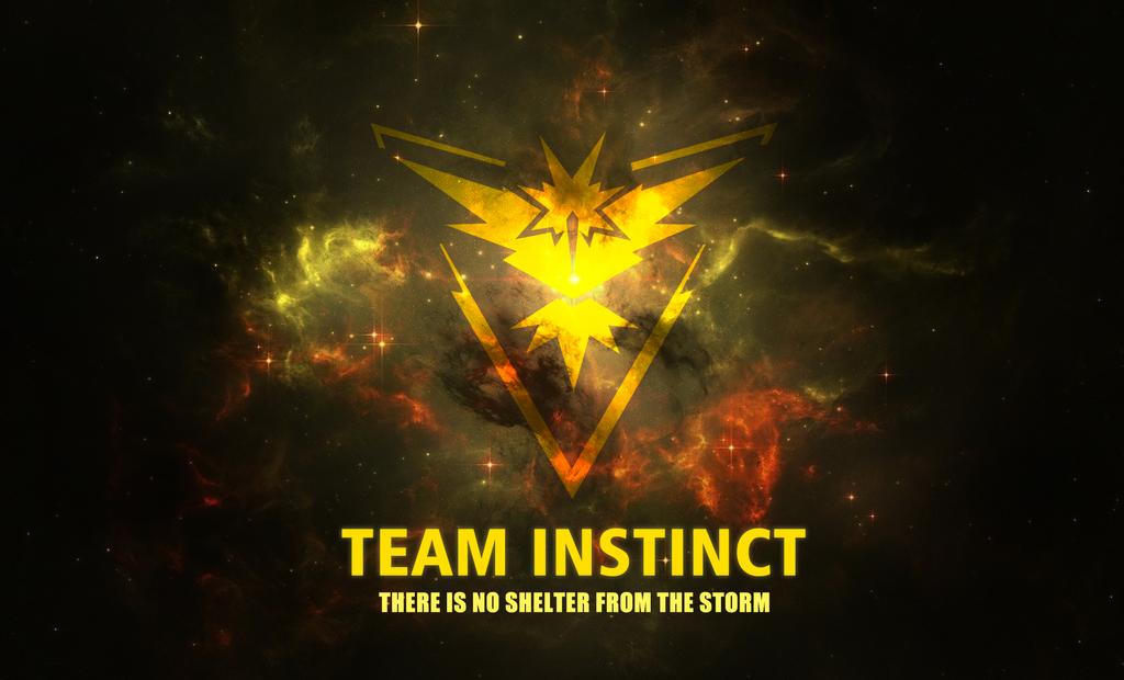 Team Instinct Wallpaper Pokemon Go: TEAM INSTINCT WALLPAPER By FireXtremeID On DeviantArt