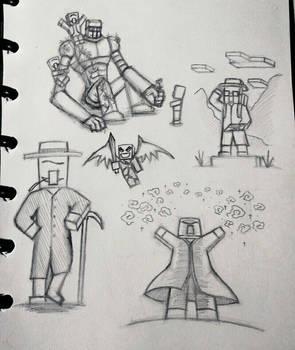 Minecraft Doodles