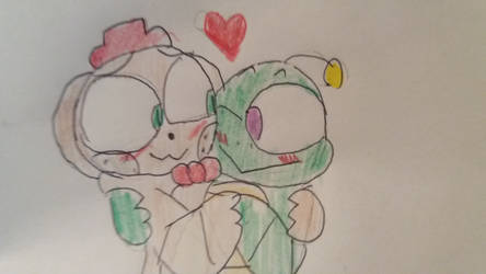 Happy frog x ned bear