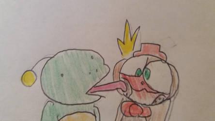 Frog kiss (nedfrog)