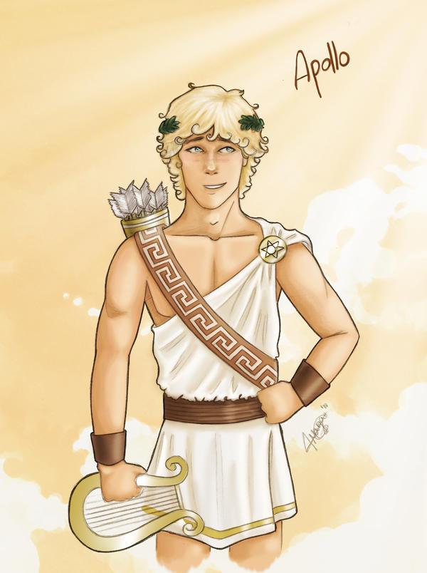 Apollo - Olympian by MargaHG on DeviantArt