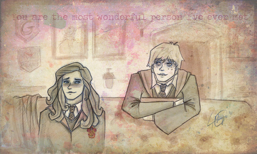 Hermione, honestly... by MargaHG