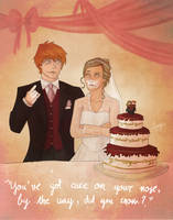 Cake On Your Nose by MargaHG