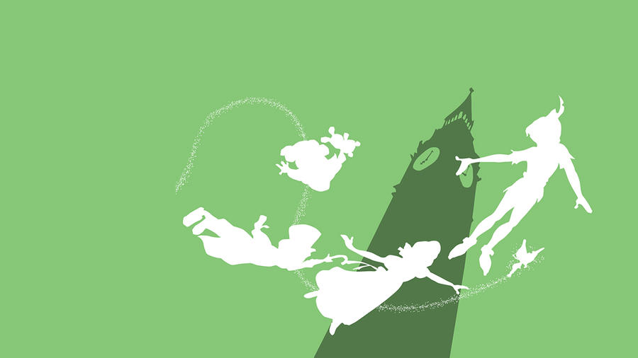 Peter Pan Wallpaper By MargaHG