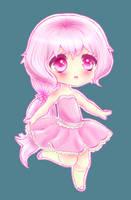 Cute Pink Chibi by Xukia