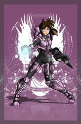 wallpaper Female Spartan IV-212