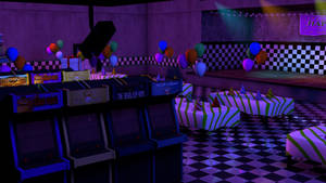 (C4D) FNAF 2 MAP DOWNLOAD by christianzc