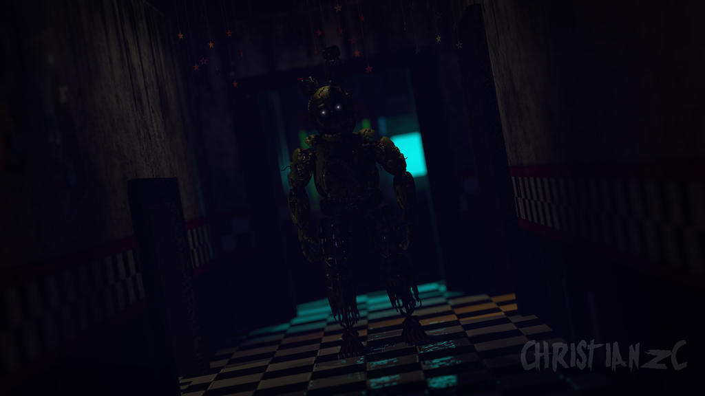 [C4D-FNAF] it's me michael by christianzc