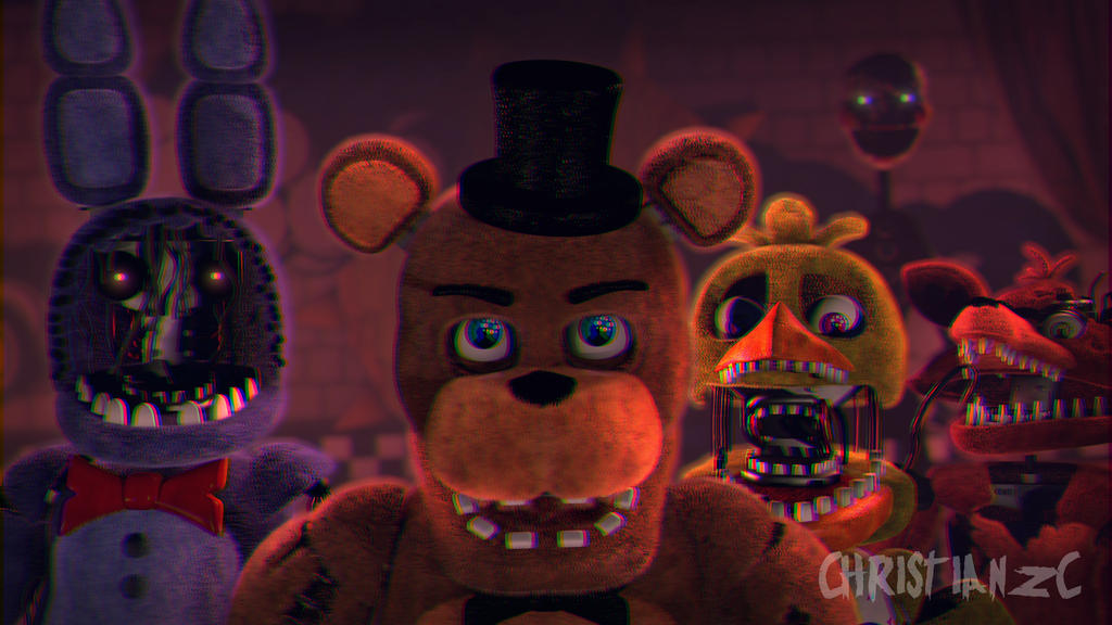 [C4D-FNAF] The Savage Children by christianzc