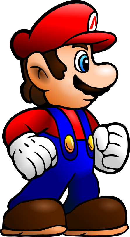 Super Mario: Vector by Cyberguy64