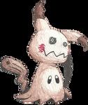 It's Mimikyu!