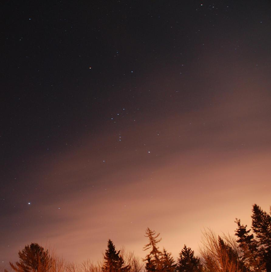 Night sky near Quebec (2) by Dawnweaver