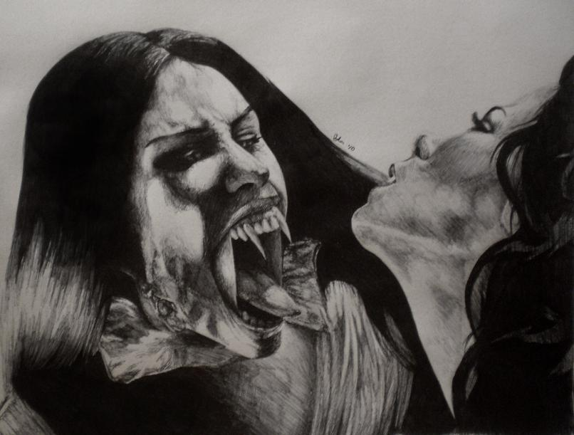 Van helsing drawing - Verona  by rockyalikeahurricaneVan Helsing Drawing