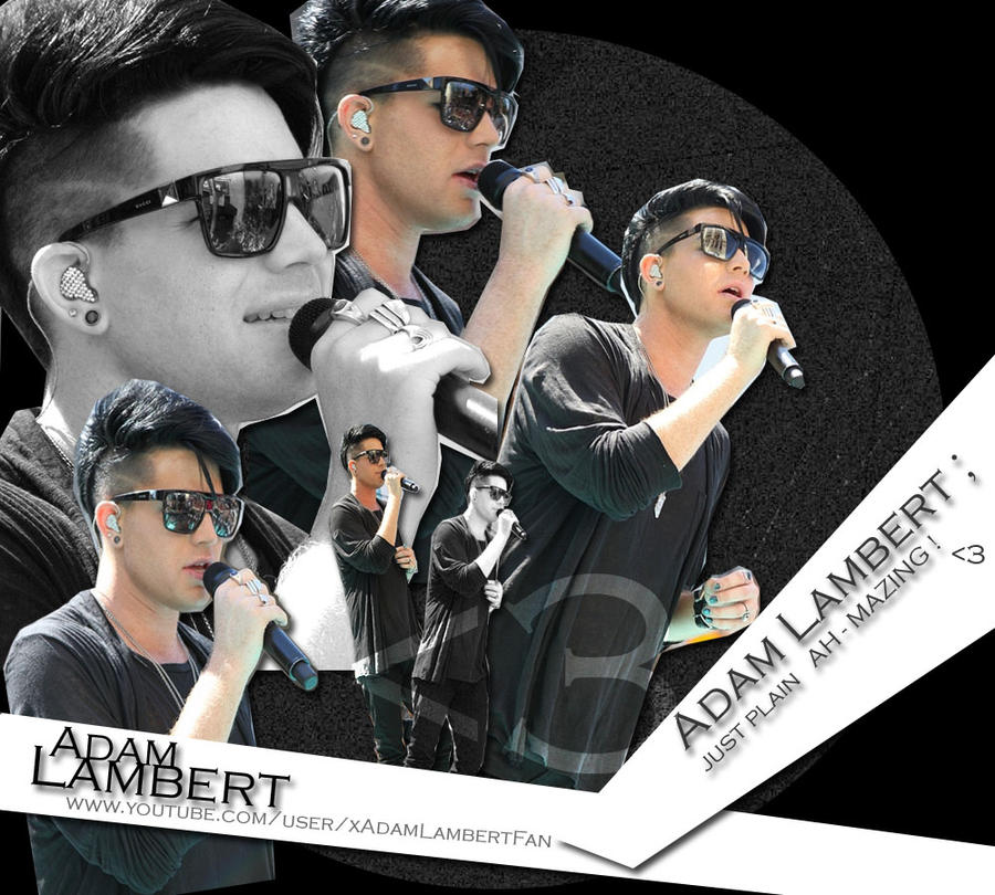 Adam Lambert Wallpaper. by Ashley-Deviantart
