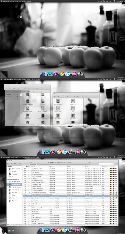 Dark Desktop by rafeviper