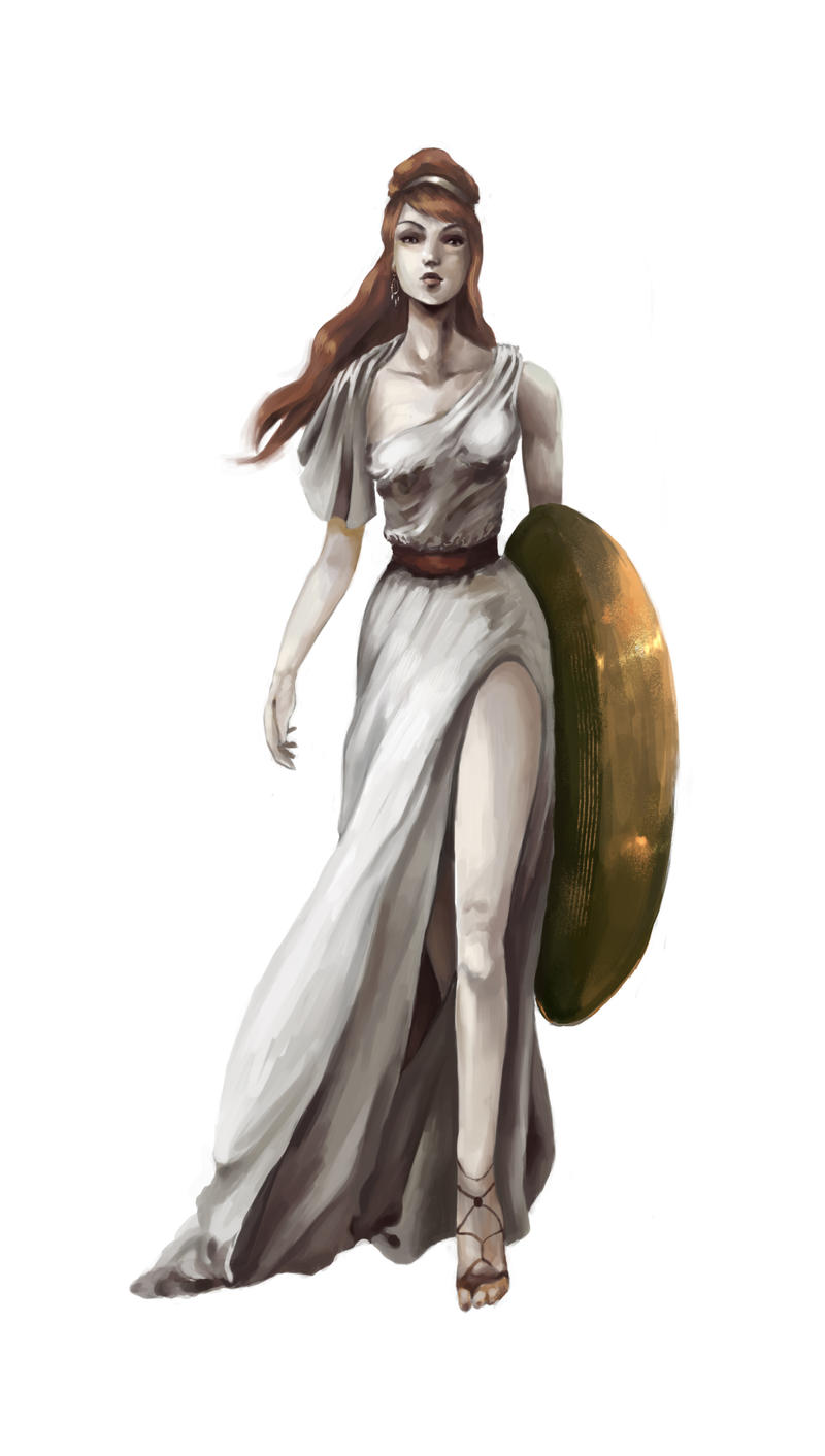 Athena by ThelemaTherion on DeviantArt