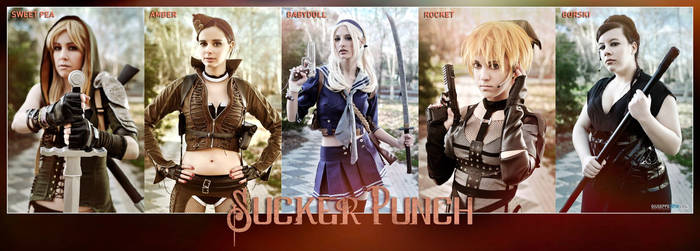 Sucker Punch cosplay group