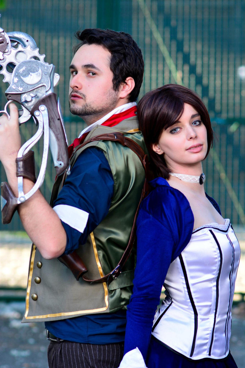 Booker and Elizabeth cosplay by ThelemaTherion