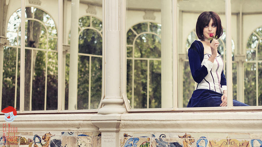 Elizabeth Bioshock Infinite by ThelemaTherion