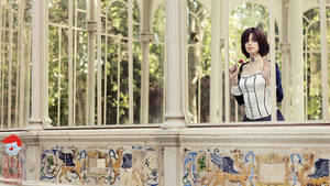 Elizabeth Bioshock Infinite cosplay by ThelemaTherion
