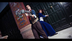 Booker and Elizabeth - Hurry by ThelemaTherion