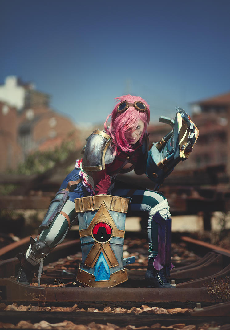 Vi - assault and battery! by ThelemaTherion