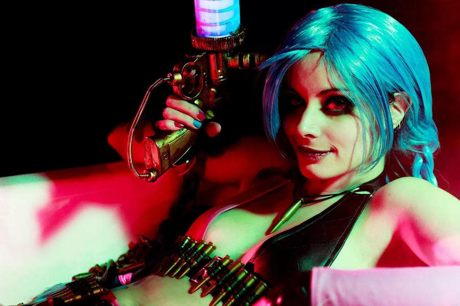 Jinx - In your face by ThelemaTherion