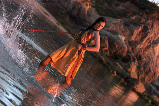 Nymeria Sand cosplay