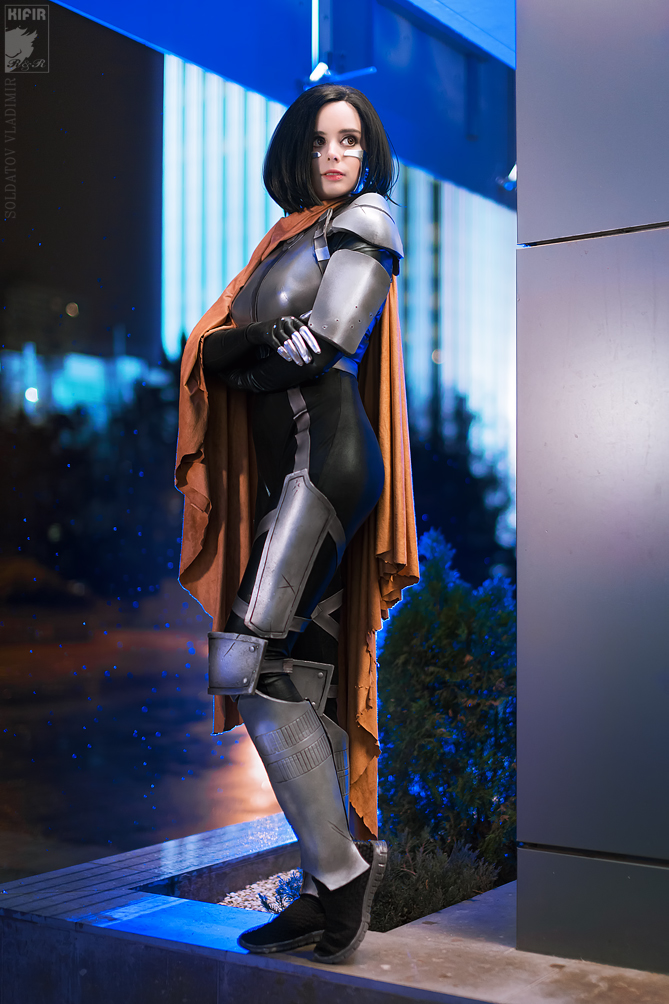 Alita cosplay by ThelemaTherion