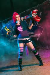 Jinx Slayer cosplay