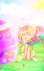 Happy Easter [Redraw] ver. 2 by KaityBrushii