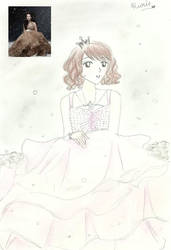 Snow Petal Princess by feliciarie