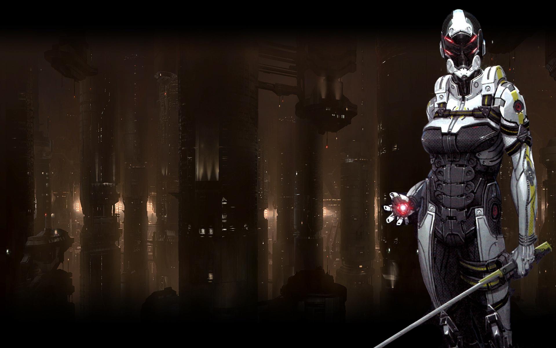 Mass Effect 3 Phantom Wallpaper By Droot1986 On Deviantart