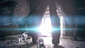 Mass Effect 1 Feros - Geth Altar