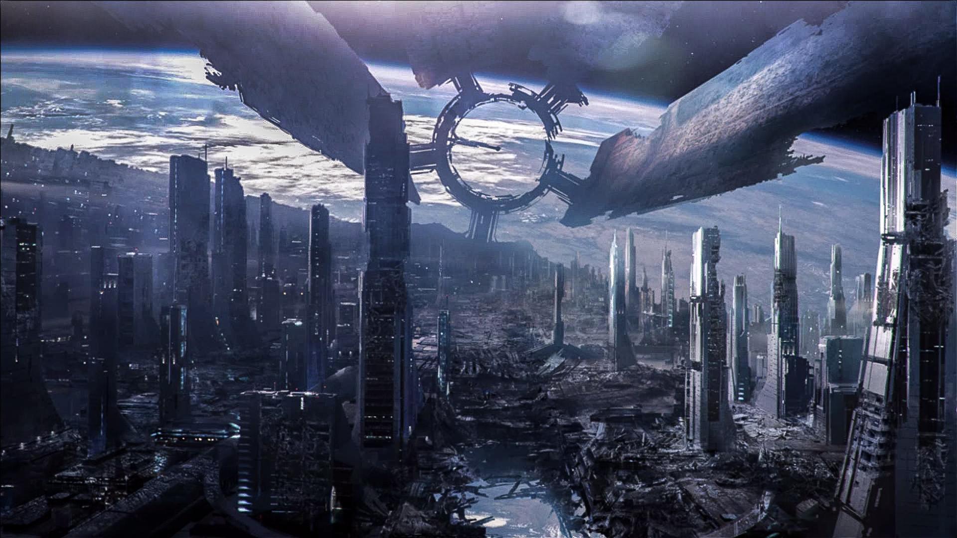 Mass Effect 3 Destroyed Citadel