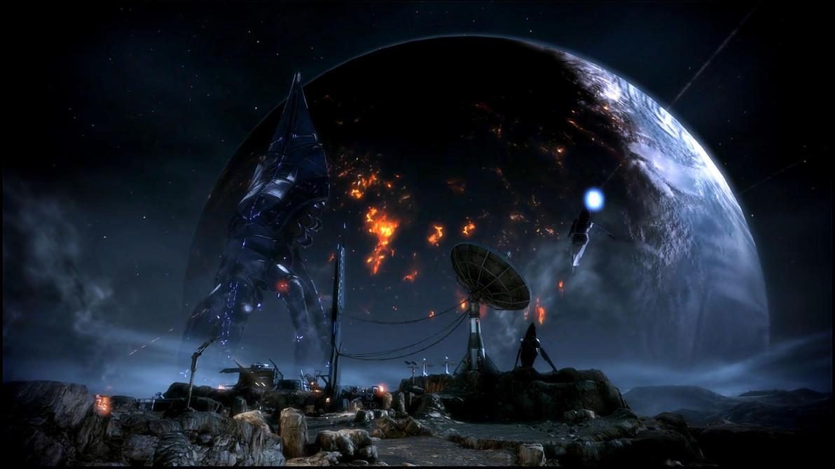 Mass Effect 3 Menae OP Dreamscene by droot1986