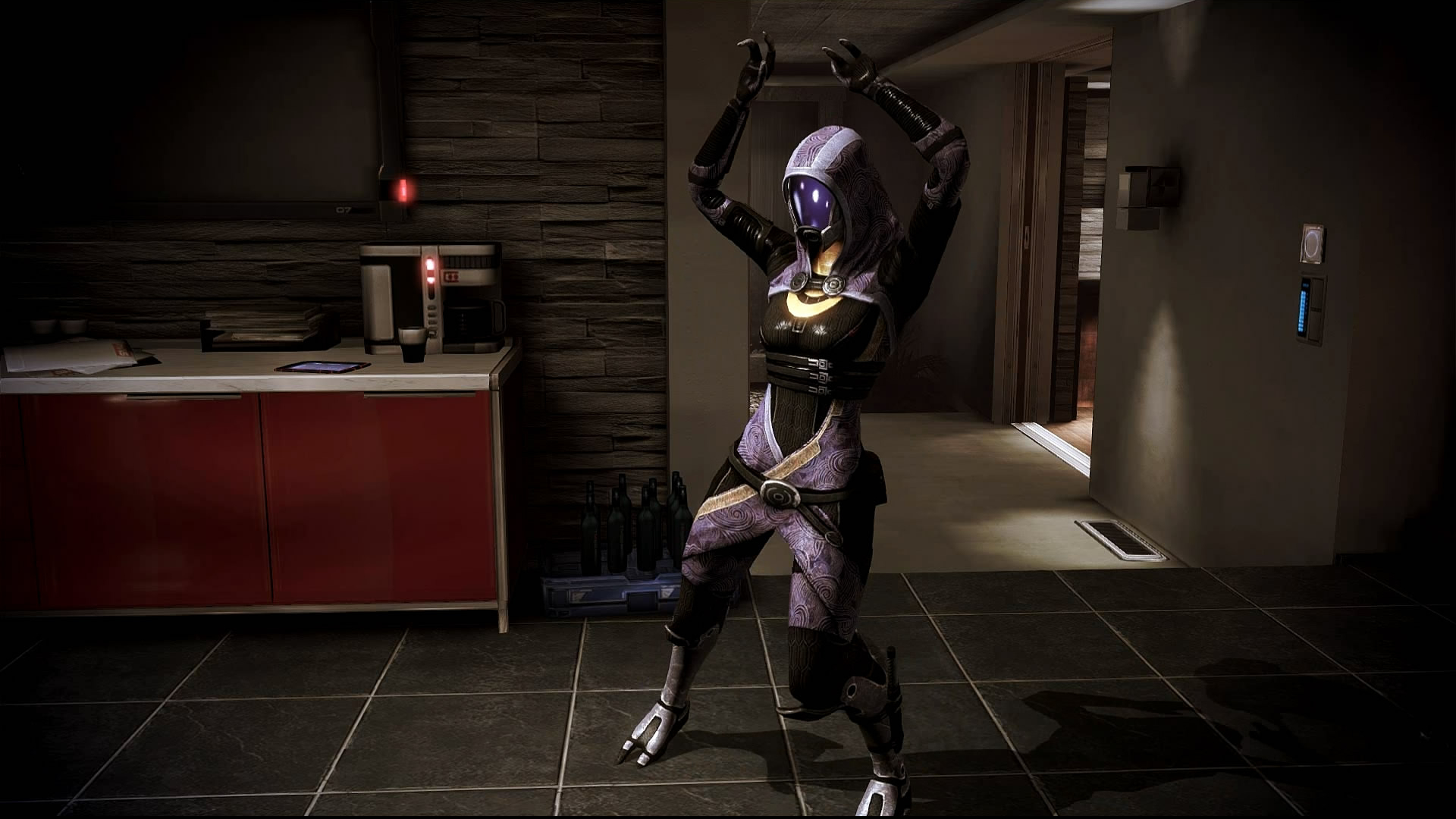 Mass Effect 3 Tali Dancing Dreamscene by droot1986