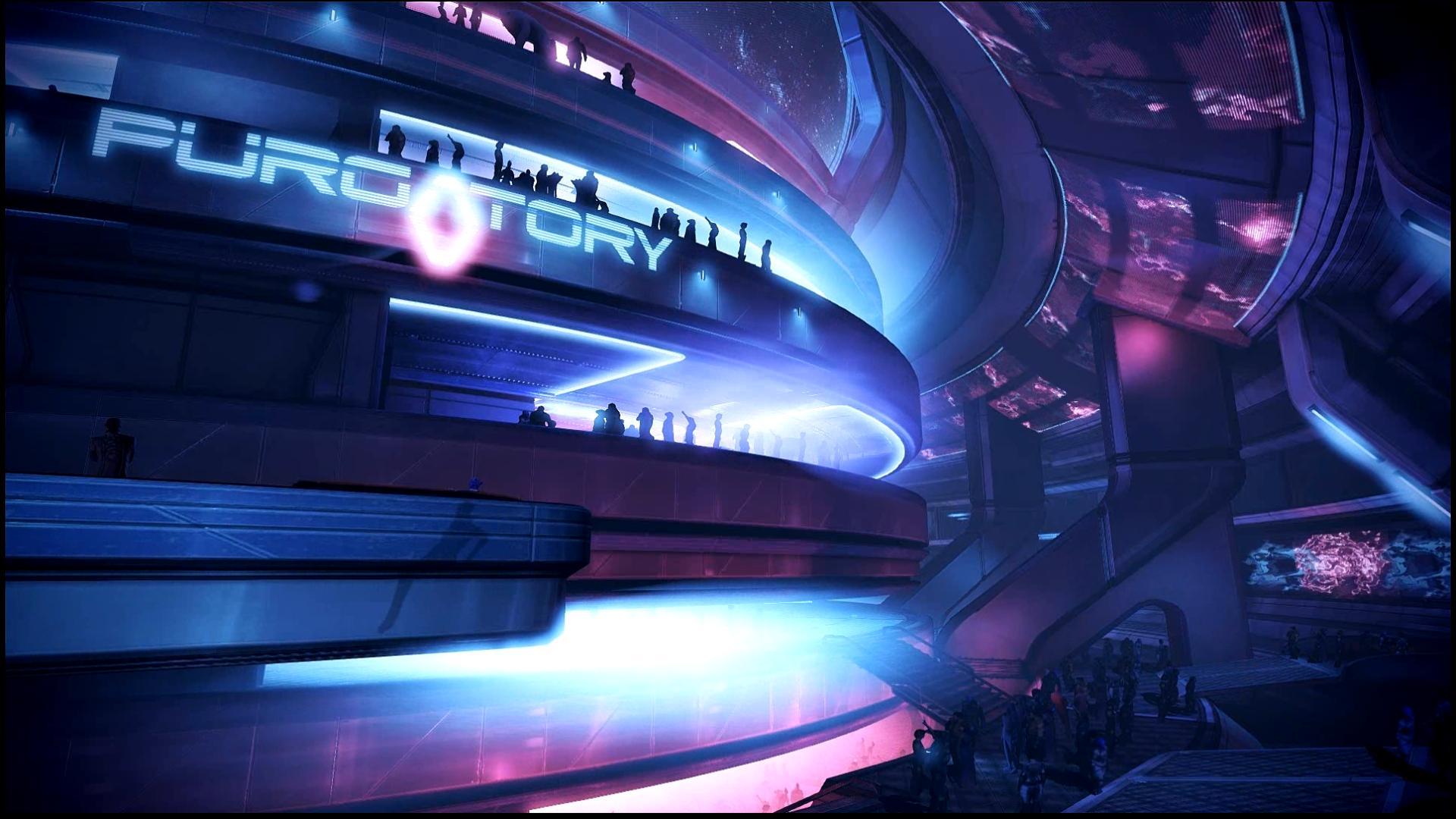 Mass Effect 3 Purgatory Dreamscene by droot1986