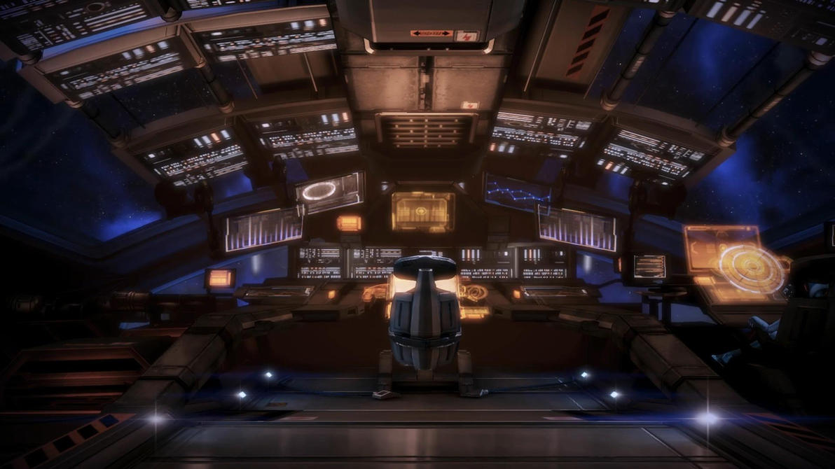 Mass Effect 3 Jeff Dreamscene by droot1986