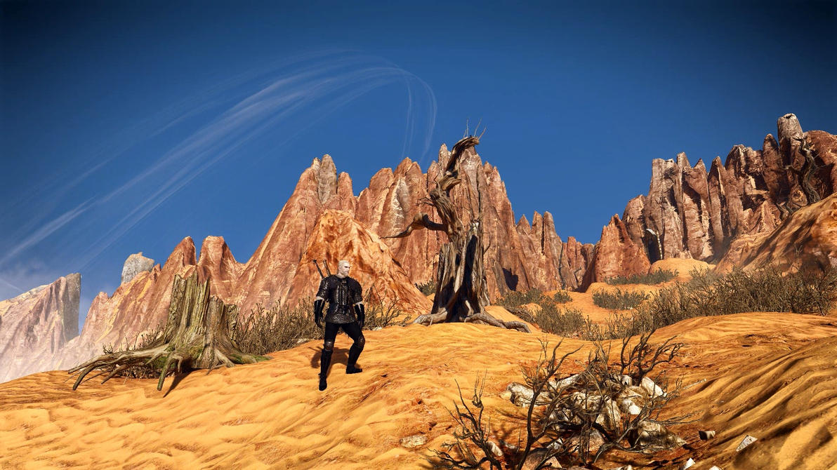 Witcher 3 Ddiddiwedht Desert 5 Dreamscene by droot1986