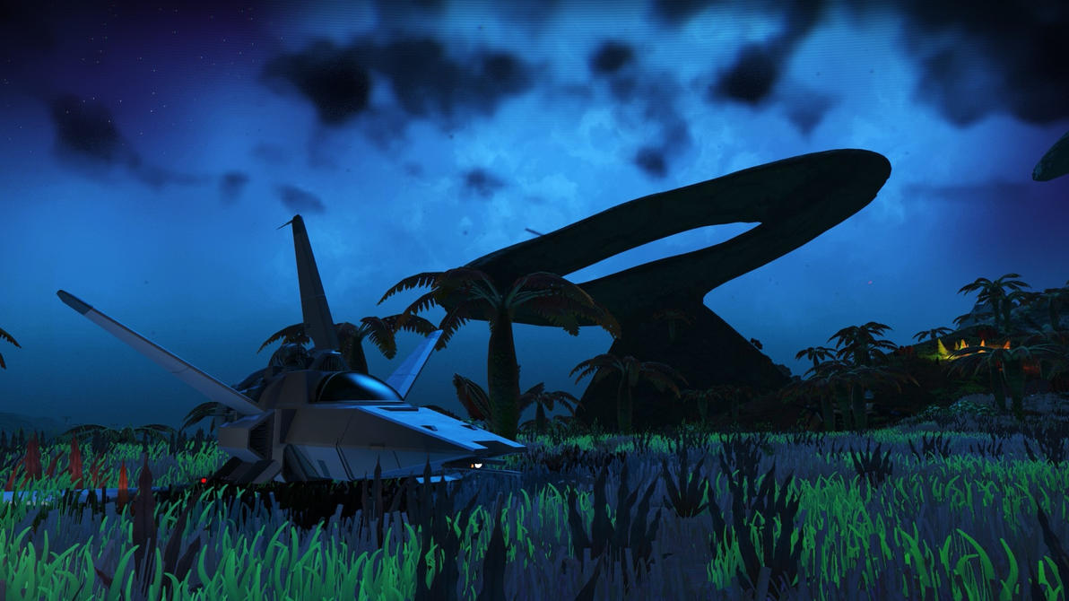 NMS Beautiful Blue Dreamscene by droot1986
