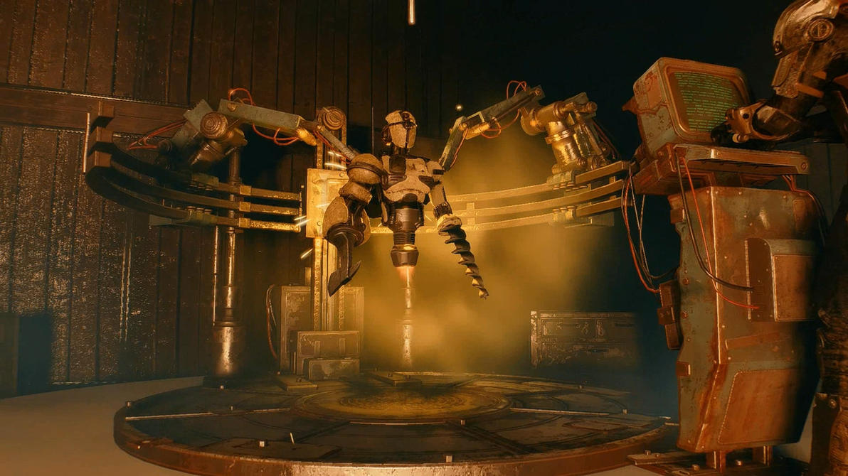 Fallout 4 Ada Dreamscene by droot1986