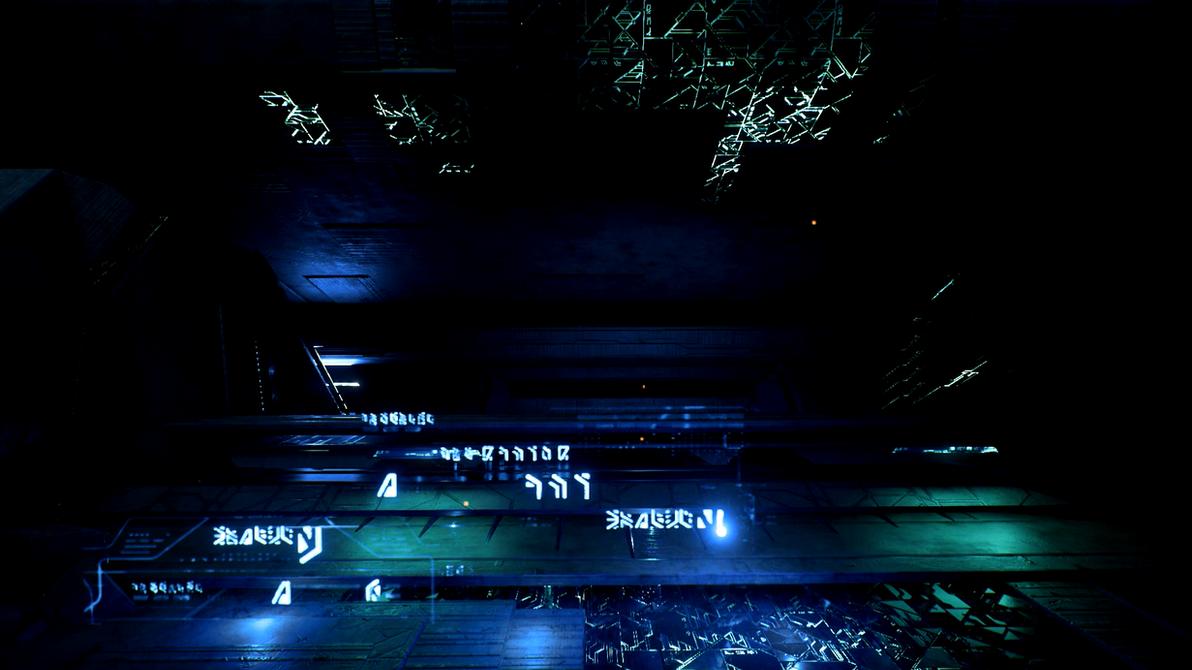 Mass Effect Andromeda   Remnant Vault Dreamscene by droot1986