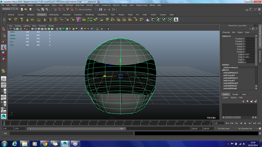 Smoothed Helmet Progress by Demon-Shadow-Wolf