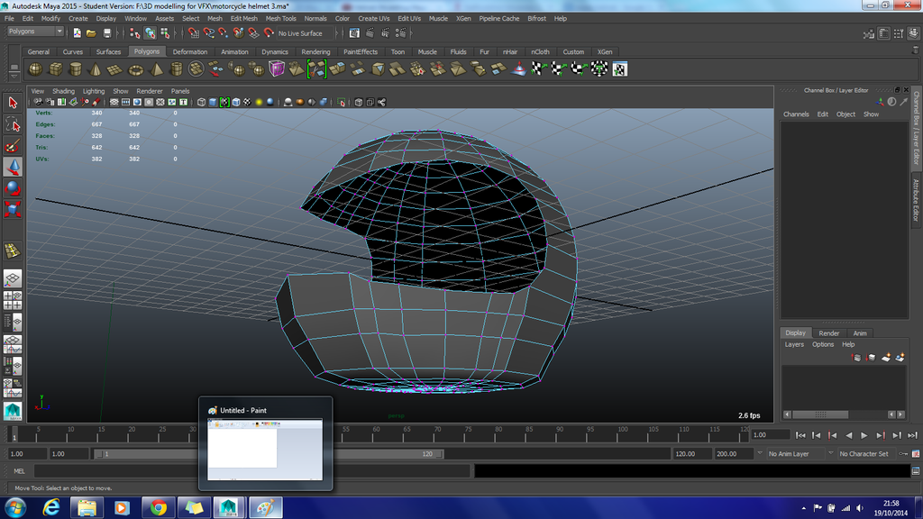 Unsmoothed Helmet Progress 3 by Demon-Shadow-Wolf